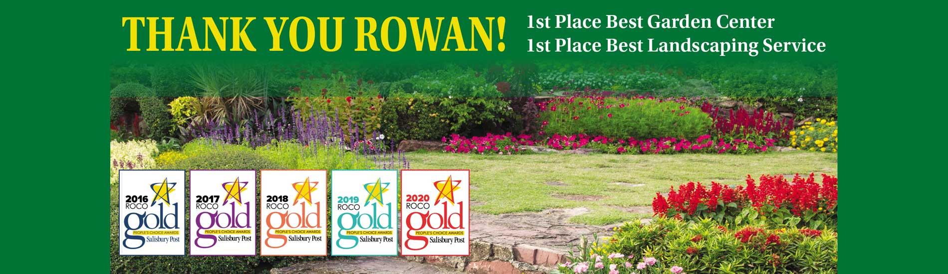 Thank you Rowan